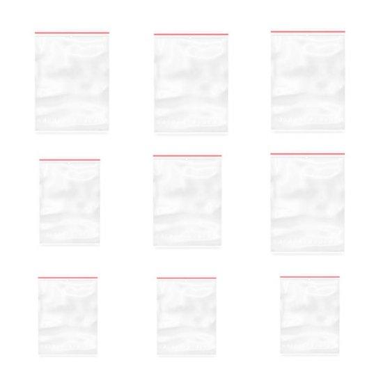 Set 100 Pungi cu Fermoar Ziplock, 40x60 mm, Punga cu Fermoar, Punga cu Inchidere, Punga cu Fermoar Ziplock, Punga cu Fermoar Ziplock Transparenta, Punga cu Sistem de Resigilare, Punga cu Inchidere din Polietilena