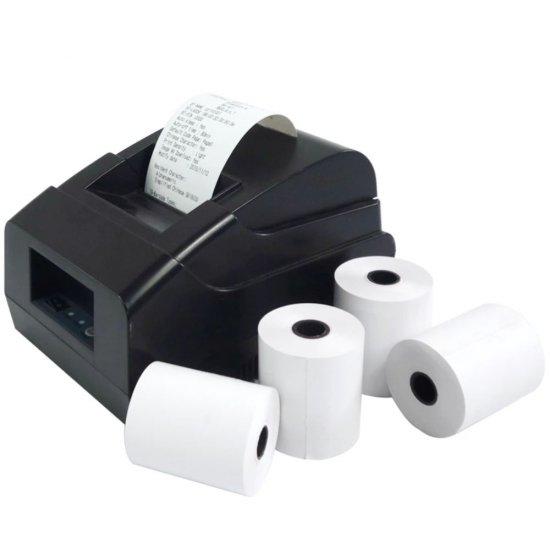 Rola Termica din Hartie, 80mm x 15m, 48 g/m2, Rola Termica, Rola Termica din Hartie, Rola Termica cu Marker, Rola Termica pentru Case de Marcat, Rola Termica pentru Dispozitive de Imprimare, Rola Termica Alba