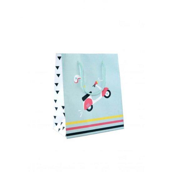 Punga Cadou Rotolux Eco Chic S, 240x120x310mm, Punga pentru Cadou Cu Model, Punga Cadou Colorata, Punga Cadou pentru Ocazii